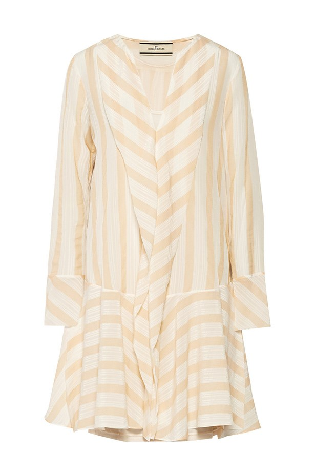 "Dress, $409, Malene Birger, <a href=""http://www.net-a-porter.com/au/en/product/491572"">net-a-porter.com</a>"