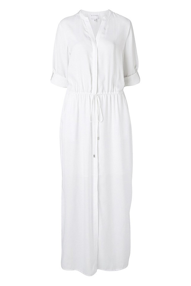"Dress, $129.95, Witchery, <a href=""http://www.witchery.com.au/shop/new-in/woman/60175914/Maxi-Shirt-Dress.html "">witchery.com.au</a>"