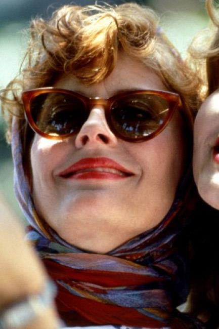 Road trip inspo? Driving down the highway with the sun beating down and the wind in your hair <em>al la Thelma & Louise</em> (1991).