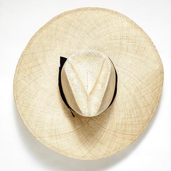 "<a href=""http://www.desordrestore.com/femme/buy-now/by-style/new-arrivals/the-wrenn"">Hat, $290, Gladys Tamez Millinery, desordrestore.com.</a>"