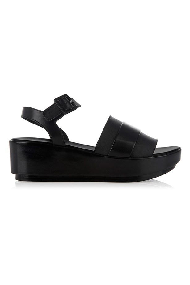 "Flatform, $390, Robert Clergerie, <a href=""http://www.matchesfashion.com/product/1011736 "">matchesfashion.com.au</a>"