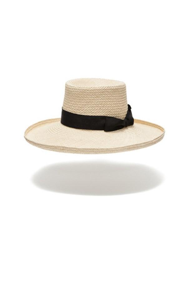 """Hat, $330, Hatmaker, <a href=""""http://hatmaker.com.au/collections/women-s-hats/products/fitzalan"""">hatmaker.com.au</a>"""