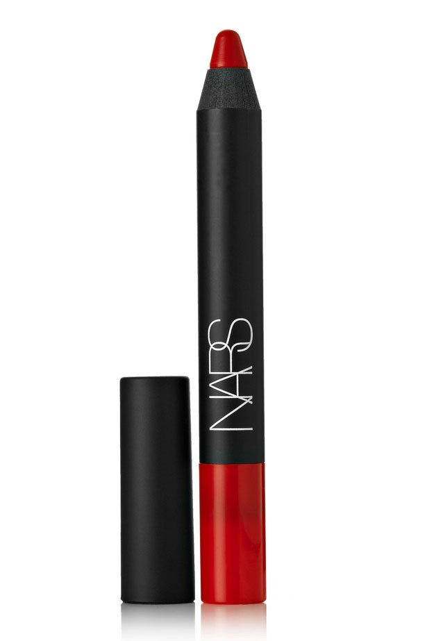 "Velvet Matte Lip Pencil in Dragon Girl, $34, Nars, <a href=""http://mecca.com.au/"">mecca.com.au</a>"