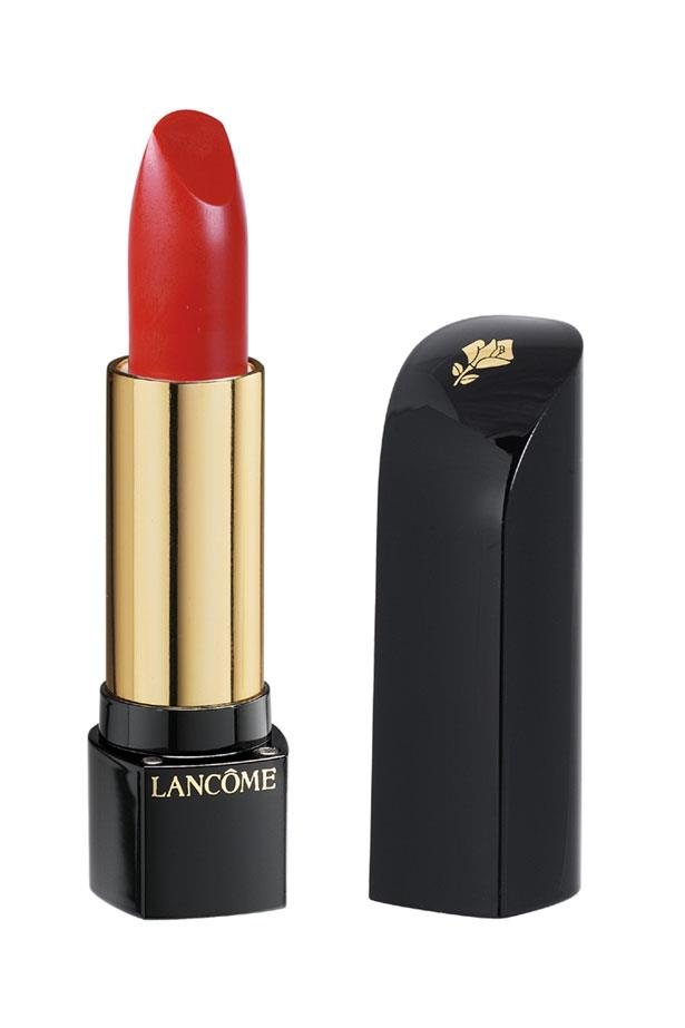 "L'Absolu Rouge Lipstick in Rouge Odyssée, $50, Lancôme, <a href=""http://www.lancome.com.au/"">lancome.com.au</a>"