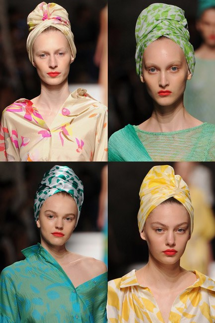 The beehive to hide<br><br> <em>Missoni spring/summer 2015</em>