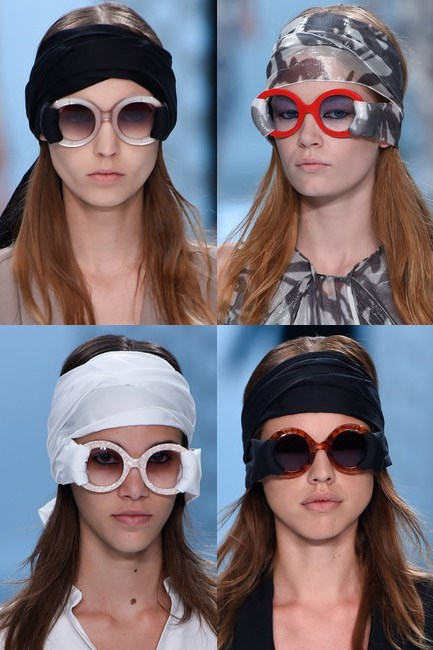 The shade-y lady<br><br> <em>Chalayan spring/summer 2015</em>