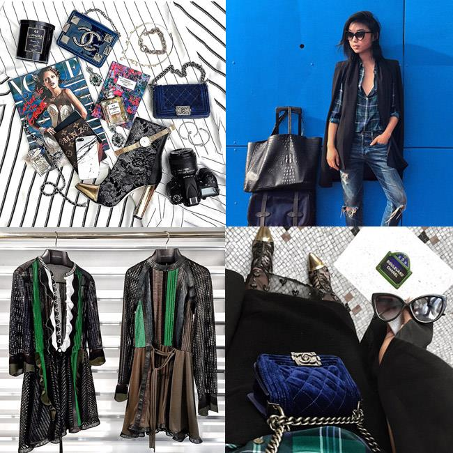 """<strong>Commandant: Thou shall do a beautiful packing shot </strong><br><br> Whether you're after pre-holiday packing advice or just want to brag about your swag, the suitcase shot is suitable.<br><br> <em>Muse: Margaret Zhang of Shine by Three, packing for Paris Fashion Week, <a href=""""http://instagram.com/margaret__zhang"""">@margaret__zhang</a>"""