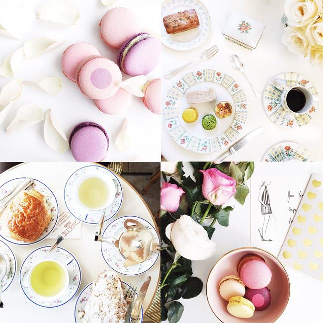 """<strong>Commandant: Thou shall focus on #foodstagrams that are sweet treats</strong><br><br> Resist the temptation to upload a photo of kale (you're on holidays after all!) and stick to the yummiest of subjects.<br><br> <em>Muse: Carin Olsson from Paris in Four Months, in her namesake city, <a href=""""http://instagram.com/parisinfourmonths"""">@parisinfourmonths</a>.   </em>"""