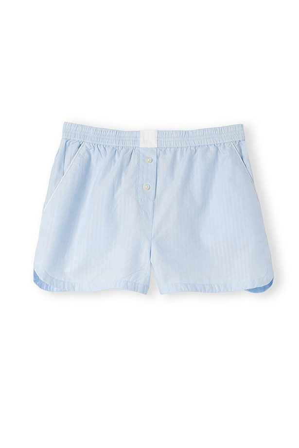 "<a href=""http://www.countryroad.com.au/shop/woman/sleepwear/sleepwear/woven-pj-short-60169561"">Shorts, $34.95, Country Road, countryroad.com.au</a>"