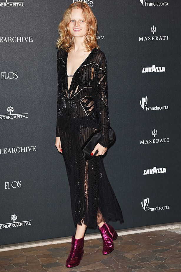 Hanne Gaby Odiele <br> Where: Milan