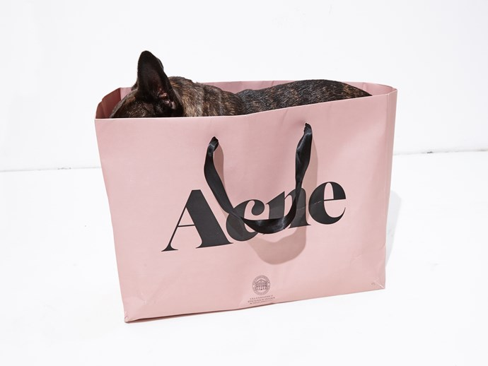 Day 1: Ninja ticked off a few people on her Christmas list at <strong>Acne Studios</strong>.
