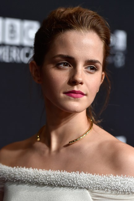 Emma Watson's matte take on the trend was oh-so <em>now</em>.