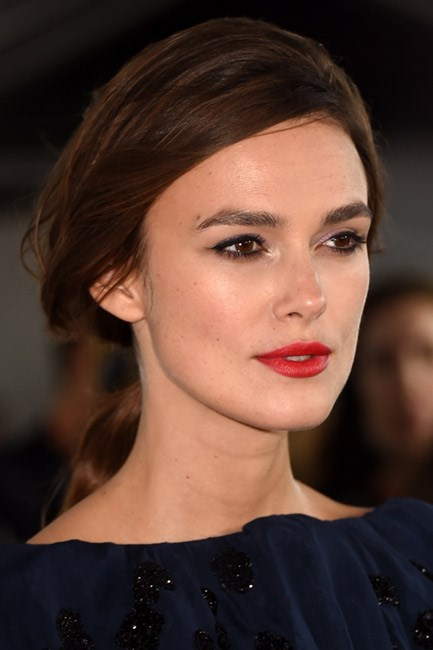 <strong>The Tuck Trick</strong><br><br> Sweeping the hair over the top of the ear gives this look a retro-glamorous look. Just be sure to pull out small pieces of hair around the face to soften the style.<br><br> <em>Celebrity muse: Keira Knightley</em>