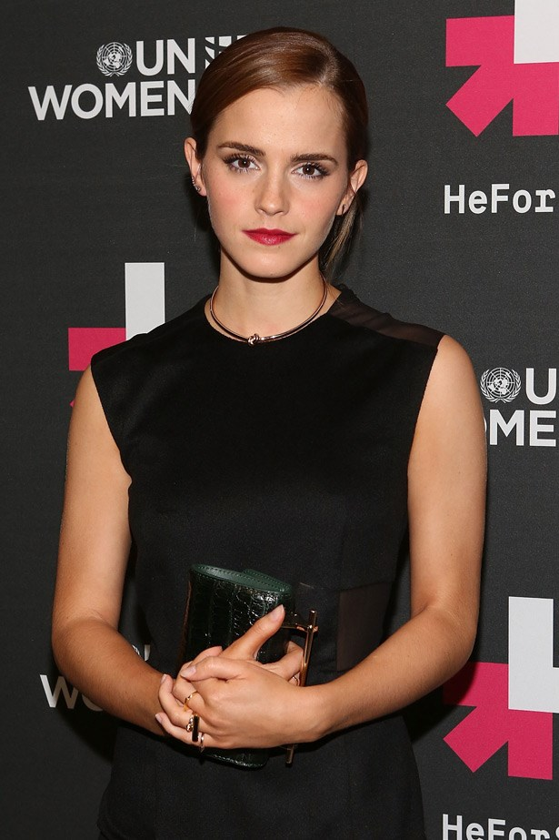 """<strong>Emma Watson's UN Speech</strong><br> In September, launching UN Women's HeforShe initiative, which aims to get men and boys to pledge to join the feminist fight for gender equality, <em>ELLE </em> covergirl and UN Women Goodwill Ambassador Emma Watson made a game-changing speech and the steps we need to make to combat gender inequality. Smart, eloquent, moving and important, the Harry Potter actress showed the world exactly what she was made of  -and we all fell in awe. Watch the full speech over at<a href=""""https://www.youtube.com/watch?v=gkjW9PZBRfk""""> <strong>United Nation's YouTube channel</strong></a>"""