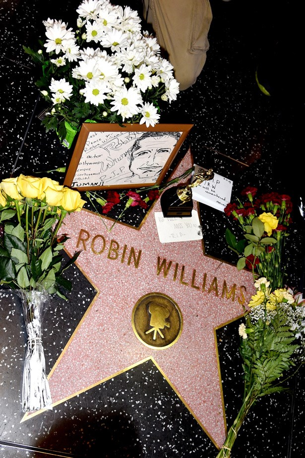 """<strong>Robin Williams' death</strong><br> If there ever was a reminder to ask someone in your life """"R U OK?"""" it was the tragic suicide of iconic funny man, Robin Williams. The news shook Hollywood and was a devastating loss to the comedic community. A month later, another comedic icon was lost when Joan Rivers, passed away after surgery complications."""