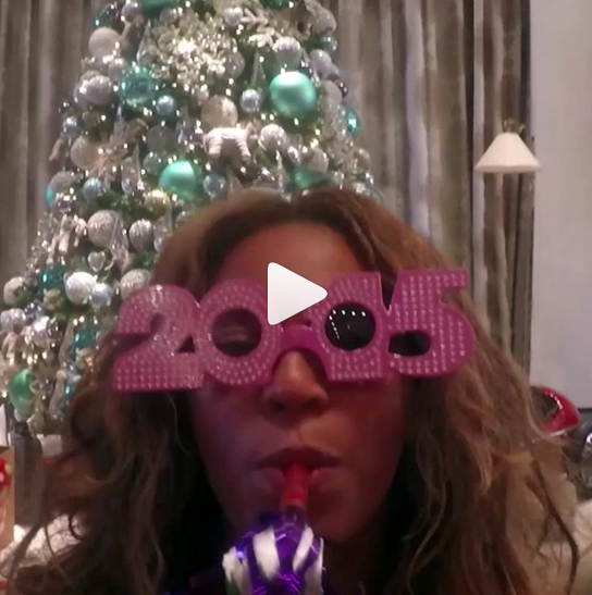 @beyonce put on the 2015 specs and uploaded a photo montage  reminding us how awesome her life is