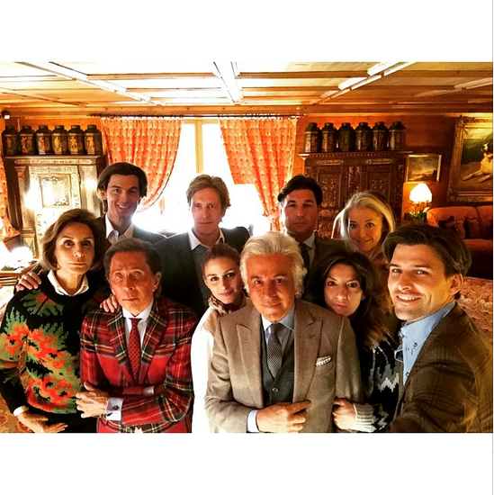 @privateegg (Giancarlo Giammetti, Valentino's partner) posts a shot from the morning after