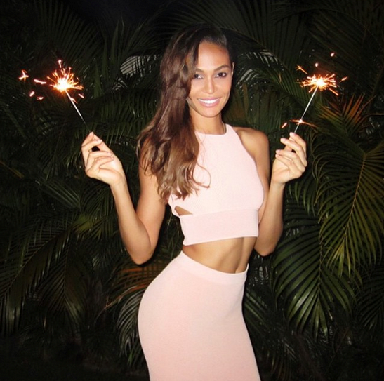 @joansmalls said it with sparklers