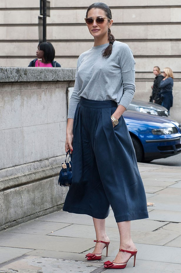 9. Give in to culottes (they're not going anywhere).