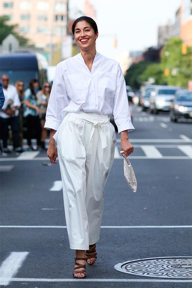 17. Brave karate-inspired white.