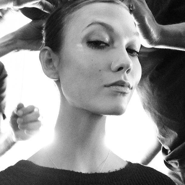"""<strong>Karlie Kloss</strong> <br><em>Coco Noir</em> by Chanel <br><br> <em>Related: <a href=""""http://www.elle.com.au/news/zeitgeist/2013/8/inside-karlie-kloss-21st-birthday-bash/"""">Inside Karlie Kloss' 21st birthday bash</a> </em>"""