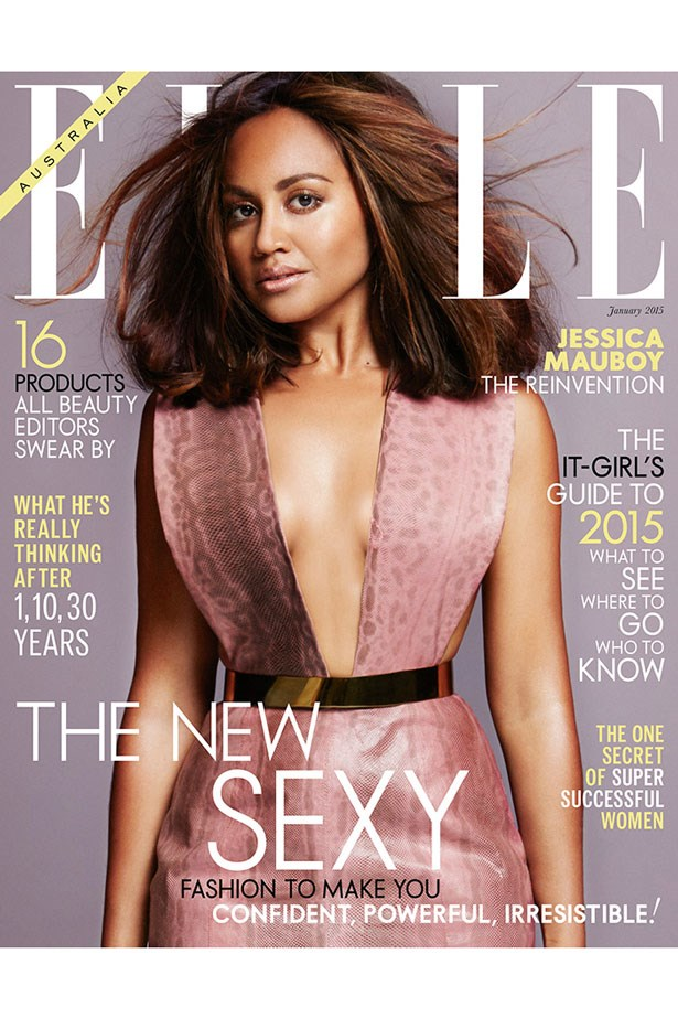 Cover Girl Jessica Mauboy January 2015