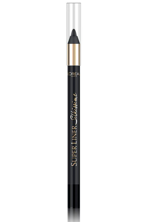 """<p><strong>Eyeliner</strong></p> <p>Smudge a brown liner on the outer corners of your upper lash line for definition. </p> <p><em>SuperLiner Silkissime Eyeliner in Brown Temptation, $22.95, L'Oréal Paris, <a href=""""http://www.lorealparis.com.au"""">lorealparis.com.au</a></em></p>"""