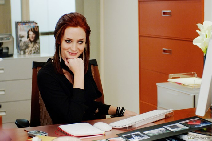 Emily Blunt in The Devil Wears Prada