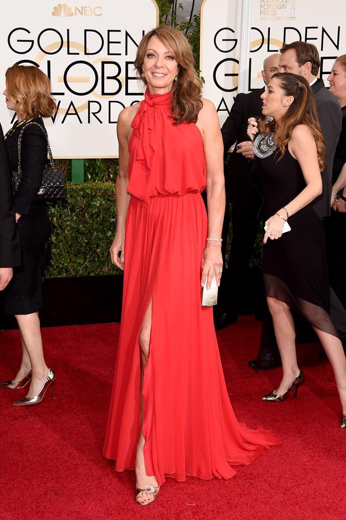 Allison Janney wearing Ella Zahlan
