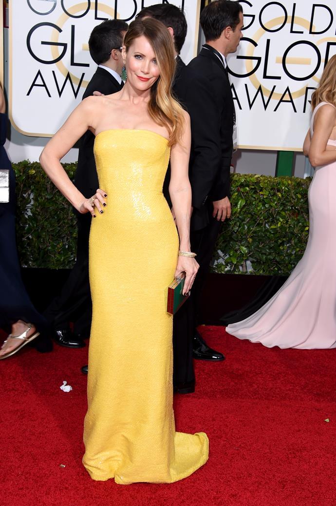 Leslie Mann wearing KaufmanFranco