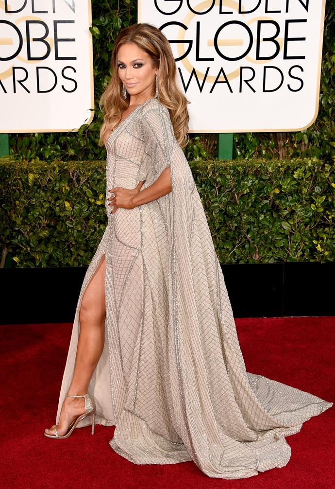 Jennifer Lopez wearing Zuhair Murad