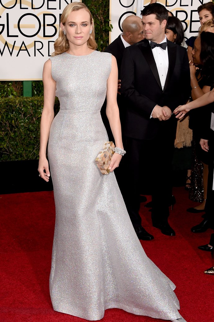 """<strong>Diane Kruger</strong> was never not going to end up on this list, but this Emilia Wickstead gown blew everything else out of the water. <br><br> <em>Related: <a href=""""http://www.elle.com.au/news/fashion-news/2014/6/diane-kruger-is-designing-a-bag-with-jason-wu/"""">Diane Kruger is designing a bag with Jason Wu</a></em>"""