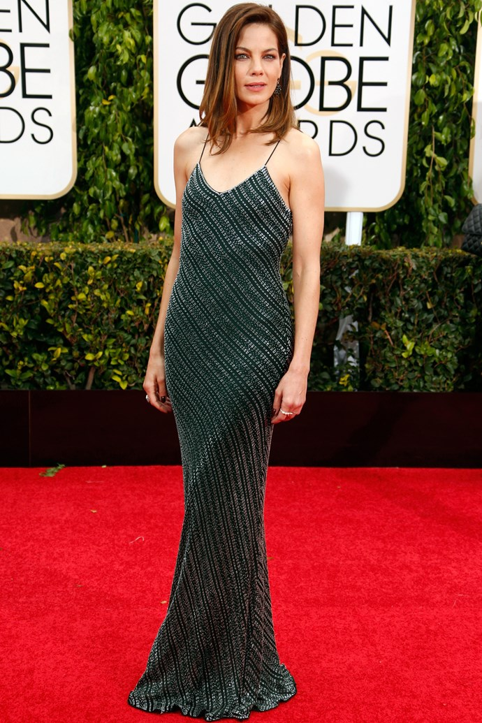 ...and the wildcard goes to <strong>Michelle Monaghan</strong>, in Jason Wu. Well played.