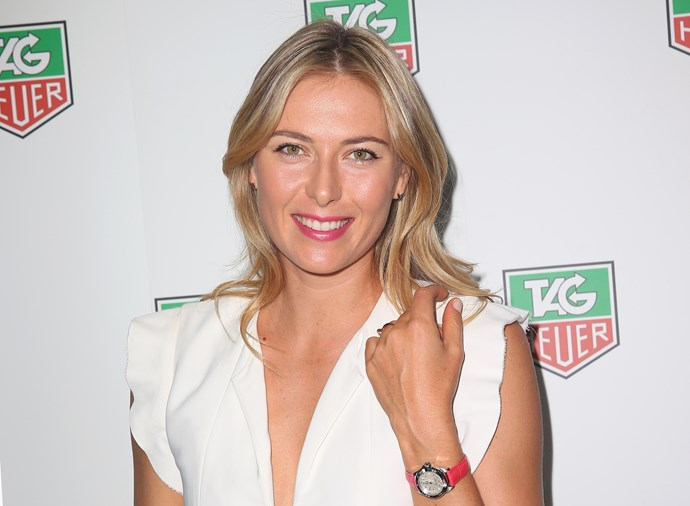 Maria Sharapova at Tag Heuer Summer Party in Melbourne