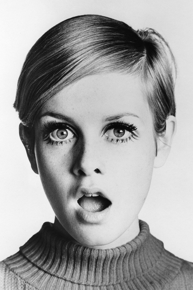 "At just 16-years-old Twiggy, then named Lesley Hornby, was dubbed ""The Face of '66"" after an editor saw her headshot, complete with drawn on lashes, hanging in a hair salon."