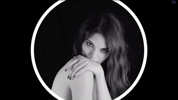 Kendall Jenner's first Estée Lauder Ad