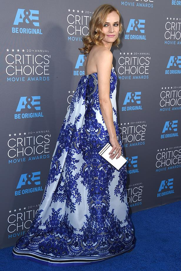 Diane Kruger wearing Naeem Khan at the 72nd Annual Critics' Choice Awards this year.