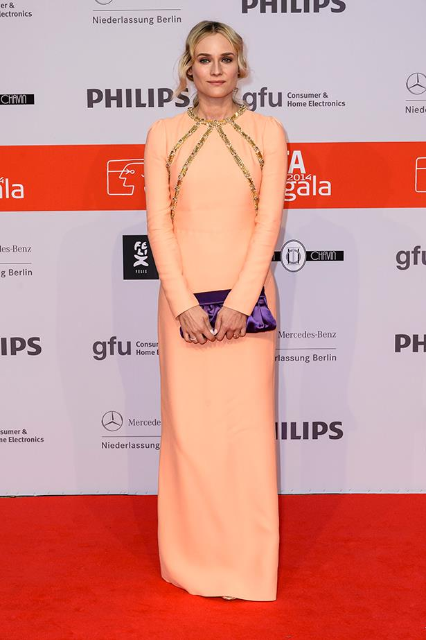Diane Kruger at the IFA 2014 Consumer Technology Trade Fair Opening Gala wearing Prada, September last year.