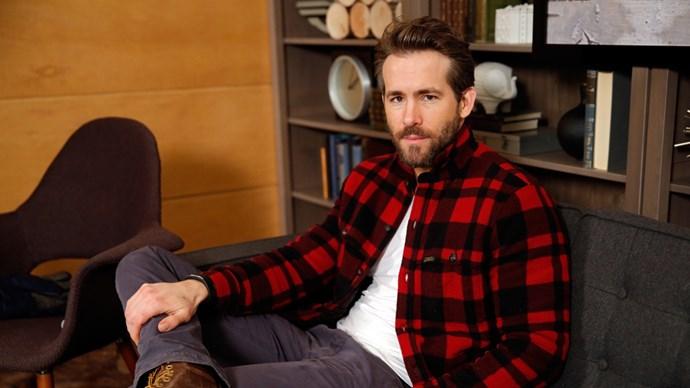 Ryan Reynolds at The Variety Studio