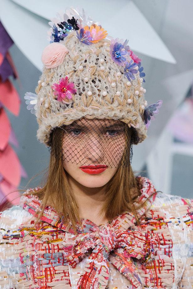 <strong>Endless headgear options: </strong>Flower-encrusted beanies, wide-brimmed tulle-swathed hats, mesh eye masks... get crafty.