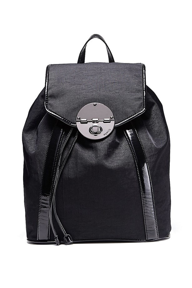"Backpack, $199, Mimco, <a href=""http://www.mimco.com.au/shop/the-latest/astro-gidget/lucid-backpack-60174151-1"">mimco.com.au</a>"