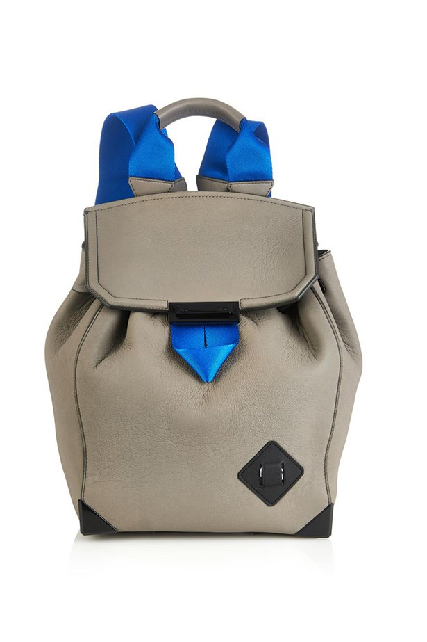 "Backpack, $1549, Alexander Wang, <a href=""http://www.matchesfashion.com/product/1005499"">matchesfashion.com</a>"