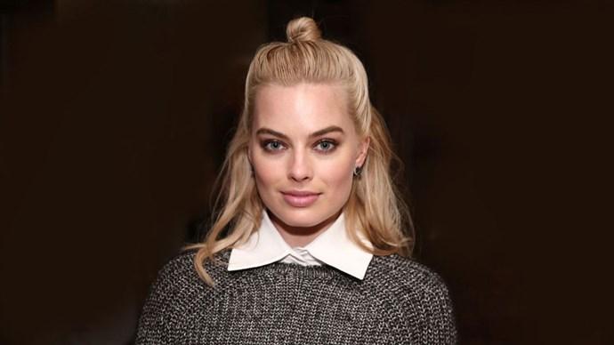 Margot Robbie's man bun