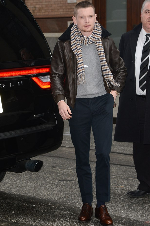 Jack O'Connell spotted in New York December last year.