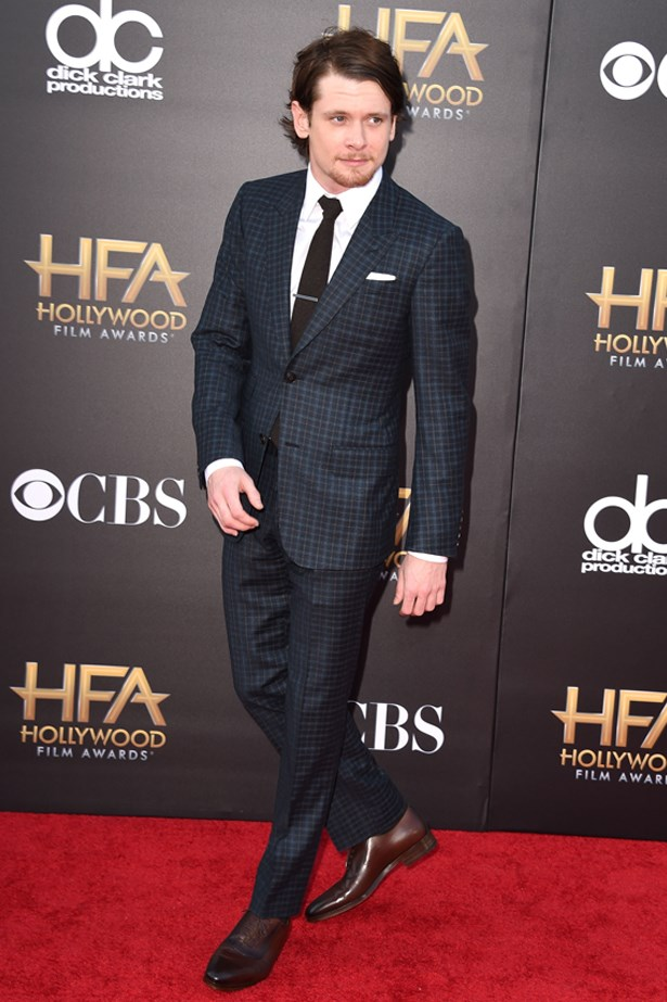 Jack O'Connell at the 18th Annual Hollywood Film Awards, November last year.