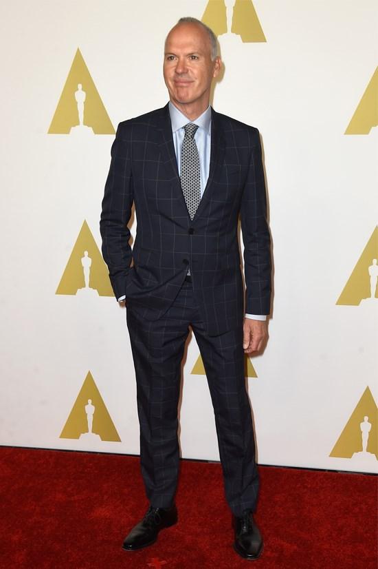 """Michael Keaton is nominated for best actor in """"Birdman""""."""
