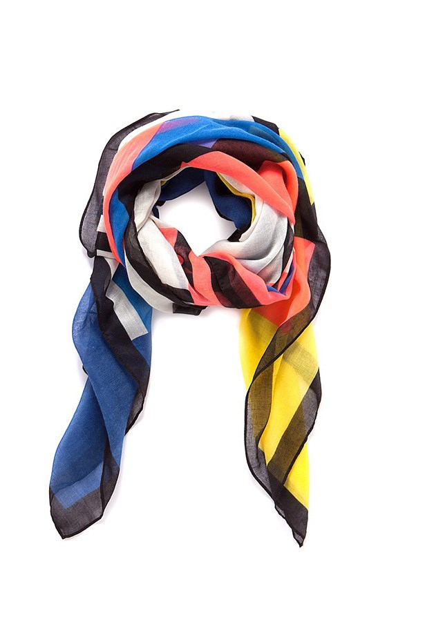 "Scarf, $59.95, Country Road, <a href=""http://www.countryroad.com.au/shop/woman/accessories/new-in/60177168/Abstract-Geometric-Scarf.html "">countryroad.com.au</a>"