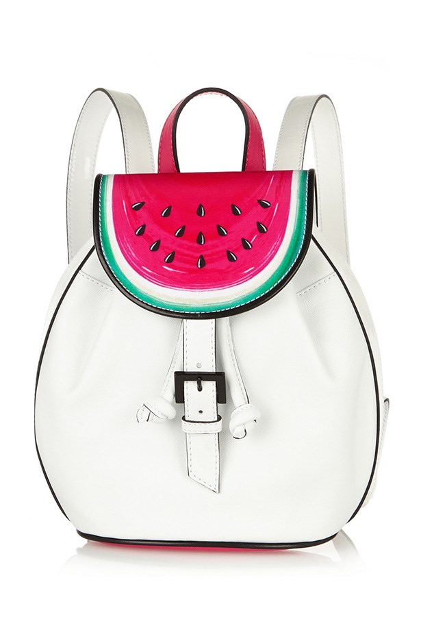 "Backpack, $632, Sophia Webster, <a href=""http://www.net-a-porter.com/au/en/product/547260"">net-a-porter.com</a>"