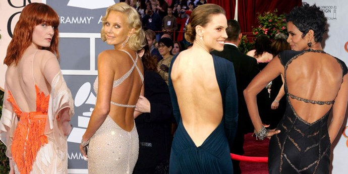 Best red carpet gowns from the back