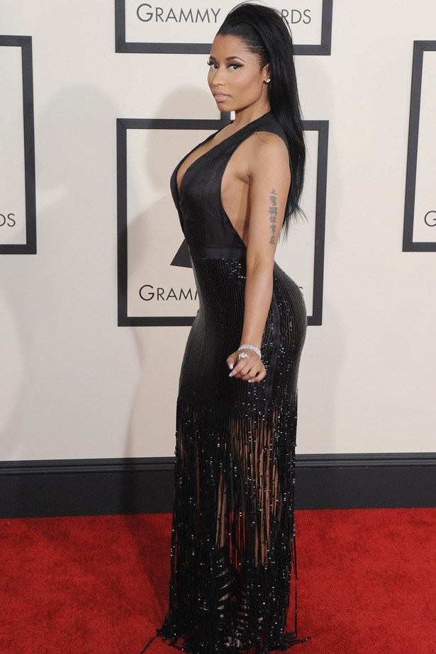 Nicki Minaj wearing Tom Ford